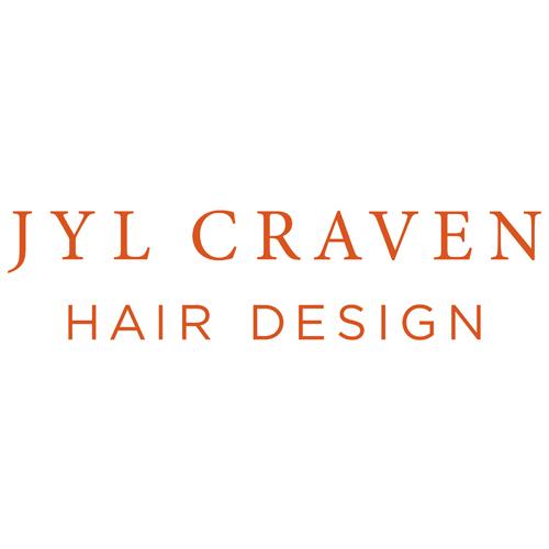 Jyl Craven Hair Design orange logo